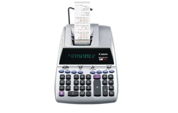 CANON PRINTING CALCULATOR MP1200-FTS 雙色列印式計算機