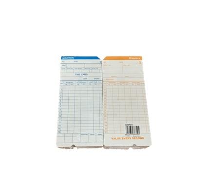 COMIX TIME RECORDER CARD F3505 工咭 | Office Equipment 辦公室文儀設備