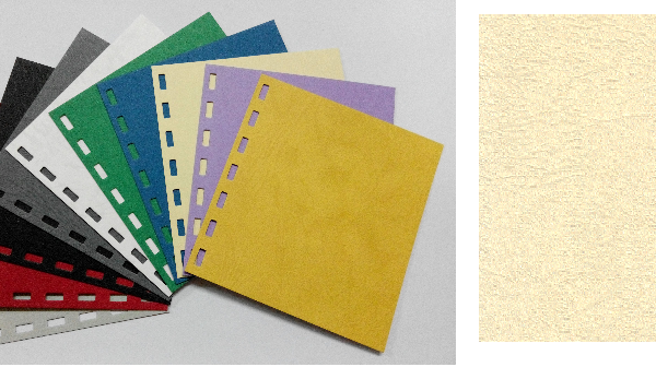 單面皮紋咭紙 A4 JAPAN 480 GRAM BEIGE 米黃