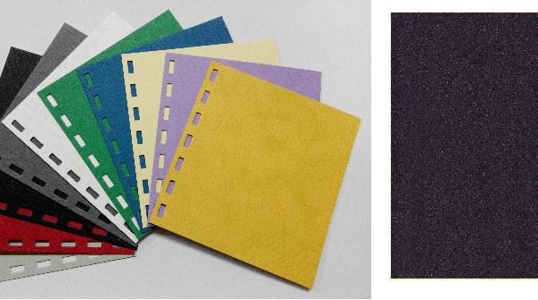 單面皮紋咭紙 A4 JAPAN 480 GRAM BLACK 黑