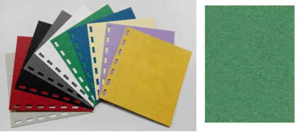 單面皮紋咭紙 A4 480G GREEN 綠 | Binding Supplies 釘裝用品