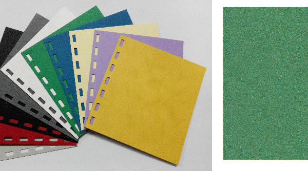 單面皮紋咭紙 A4 JAPAN 480 GRAM GREEN 綠