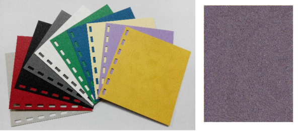 單面皮紋咭紙 A4 JAPAN 480 GRAM GREY 灰 | Paper 紙類