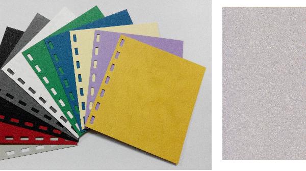 單面皮紋咭紙 A4 JAPAN 480 GRAM LIGHT GREY 淺灰