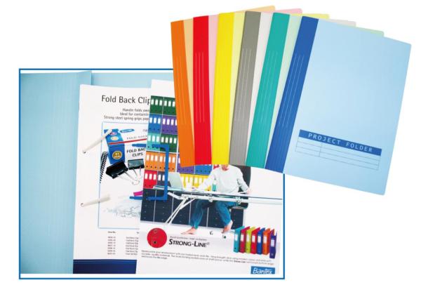 BANTEX PAPER PROJECT FOLDER F4 13441 (RED 紅) | Files 快勞類