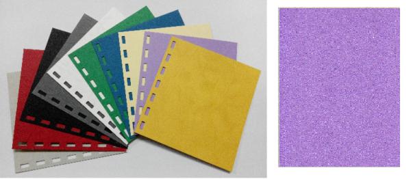 單面皮紋咭紙 A4 480G PURPLE 紫