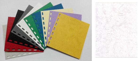 單面皮紋咭紙 A4 480G WHITE 白