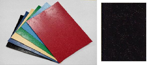 單面皮紋咭紙 A4 400G BLACK 黑
