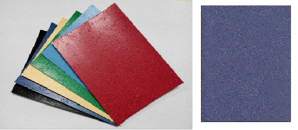 單面皮紋咭紙 A4 400G BLUE 藍