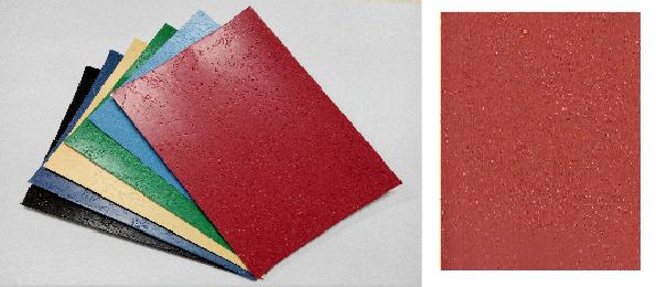 單面皮紋咭紙 A4 400G RED 紅