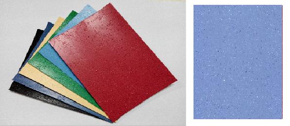 單面皮紋咭紙 A4 400G SKY BLUE 天空藍