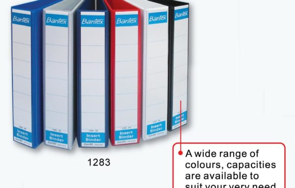 BANTEX 4 RING INSERT BINDER A4 1283 4D 38MM