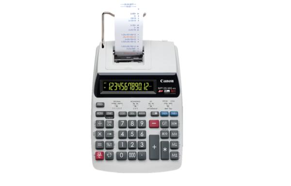 CANON PRINTING CALCULATOR MP120-MG-es II 雙色列印式計算機