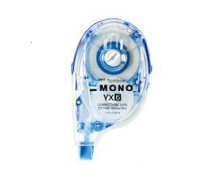 TOMBOW MONO REFILLABLE CORRECTION TAPE CT-YX6 6MMX12M 改錯帶